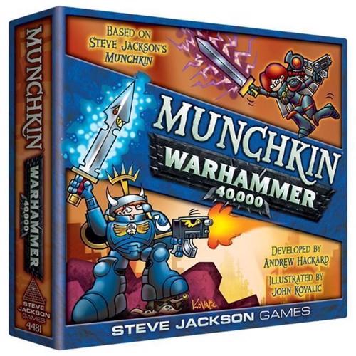 Image of Munchkin, Warhammer 40000, Brætspil, Engelsk (0080742099562)