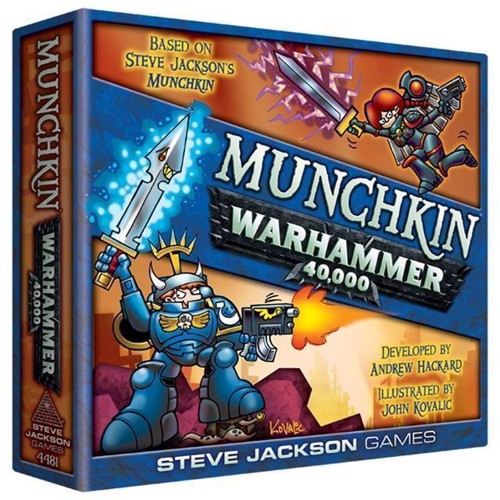Munchkin, Warhammer 40000, Brætspil, Engelsk