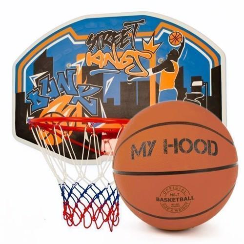 Image of My Hood - Wall-Mount Basketball Ring