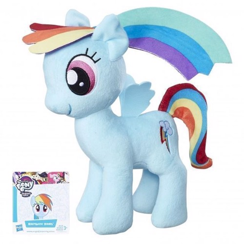 Image of   My Little Pony bamse, Rainbow Dash