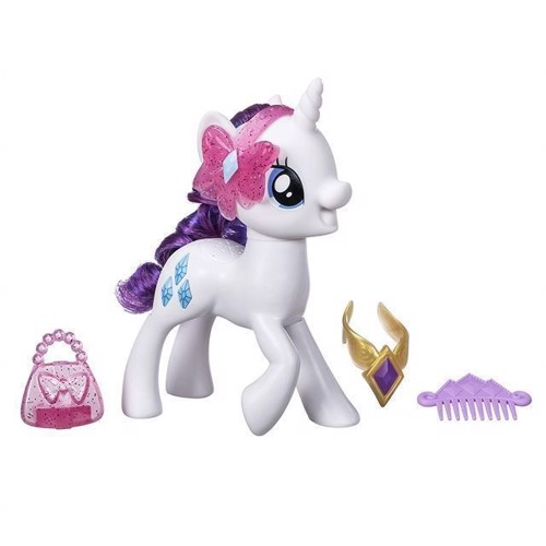Image of   My Little Pony - talende Rarity mode dukke