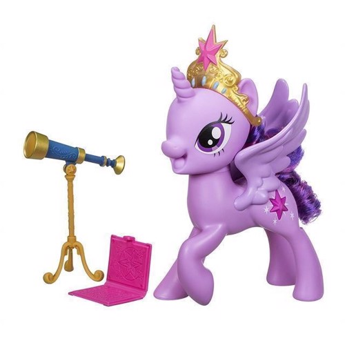 Image of   My Little Pony - talende Twilight Sparkle mode dukke