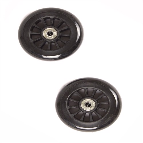 Image of My Hood - 2 Wheels for Trick Scooters 100 mm - Black/Black (505081) (5704035550817)