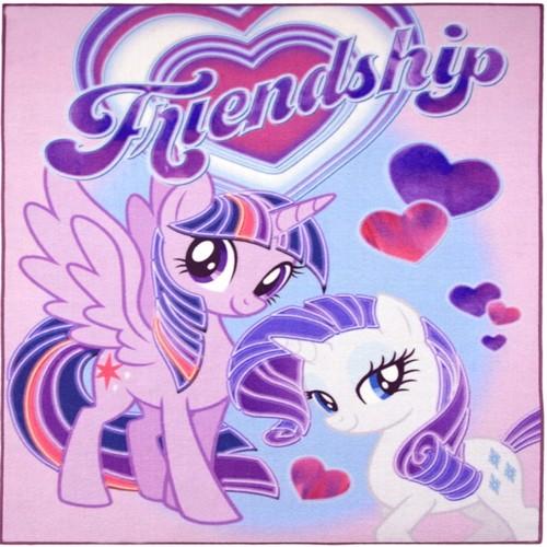Image of My Little Pony 03 Deluxe Gulvtæppe Til Børn 95X125