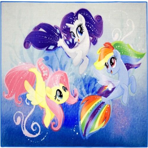 Billede af My Little Pony 05 Deluxe Gulvtæppe Til Børn 95X125