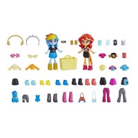 My Little Pony  Equestria Girls Fashion Squad bedste venner  Rainbow Dash  Sunset Shimmer