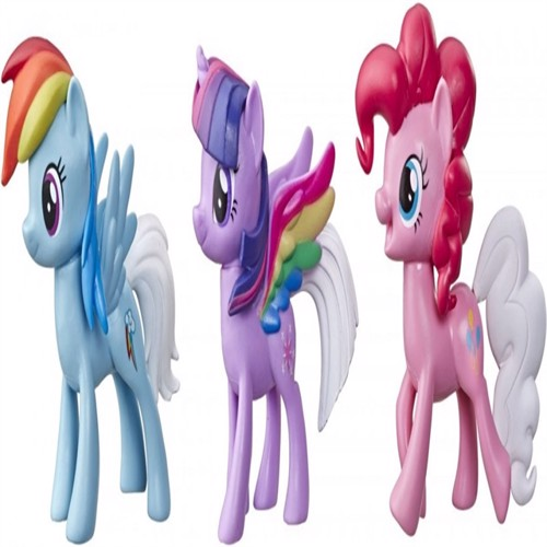 Image of My Little Pony rainbow tail surprise 3 pakke