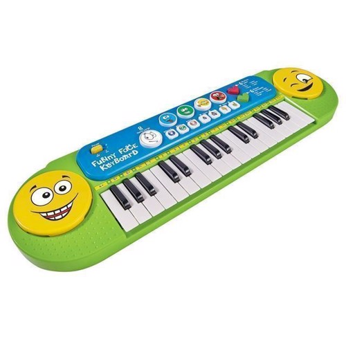 My Music World Smiley Keyboard