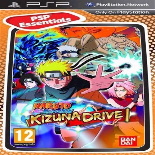 Image of Naruto Shippuden Kizuna Drive Essentials - Ps Portable