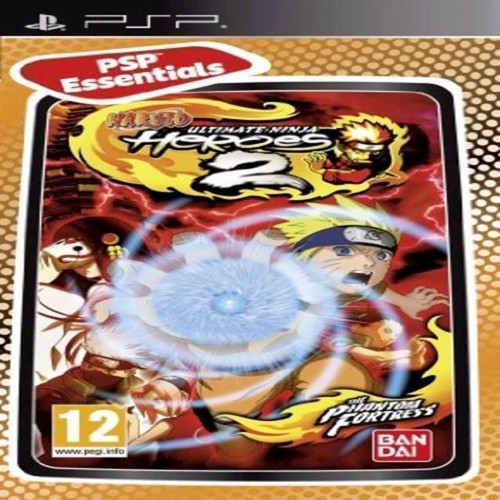 Image of Naruto Ultimate Ninja Heroes 2 Essentials - Ps Portable
