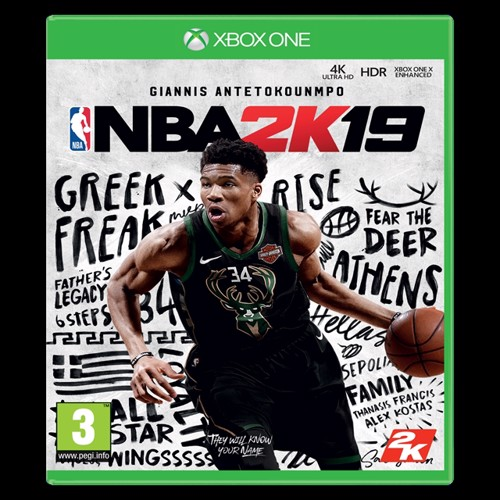Image of NBA 2K19 (Steelbook Edition) (5026555360739)
