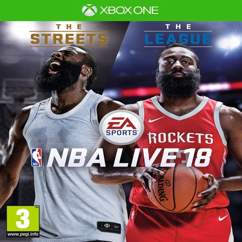 Image of NBA LIVE 18 The One Edition - PS4 (5035225116880)