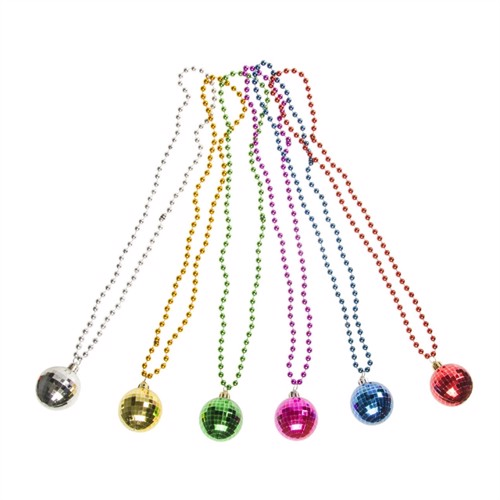 Image of Necklace with disco ball (5413247196149)