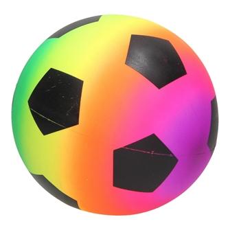 Image of Neon Rainbow Football (3800966030557)
