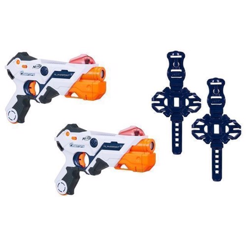 Image of NERF - Laser Ops Pro Alphapoint 2 pack (5010993499670)