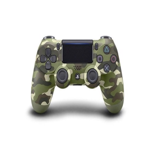 Image of New Sony Dualshock 4 Controller v2 - Green Camo - PS4 (0711719894858)
