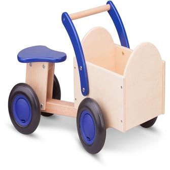 Billede af New Classic toys - Carrier cykel blå