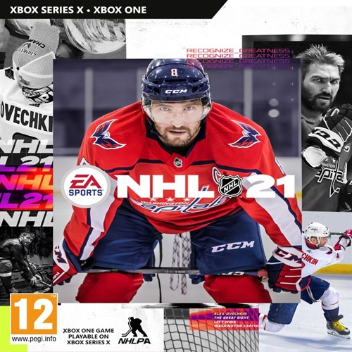 Image of NHL 21 (Nordic) - XBOX ONE (5035223122982)