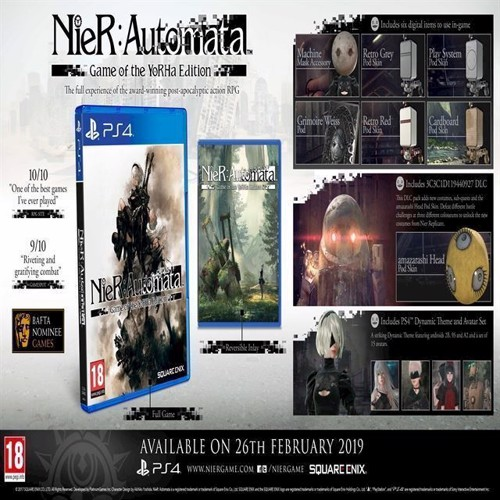 Image of NieR Automata Game of the Year - PS4 (5021290083523)