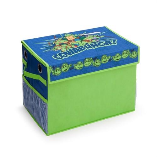 Image of Ninja Turtles Sammenklappelig Legetøjsbox
