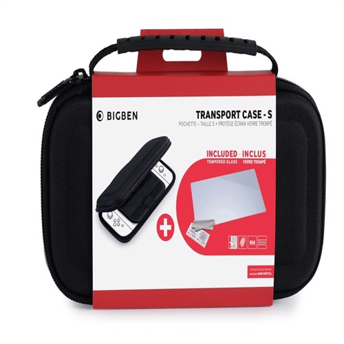 Image of Nintendo Switch Big Ben Lite Protection Kit (Case - S + Tempered Glass) - Nintendo Switch (3499550380354)