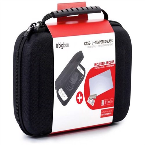 Image of Nintendo Switch Big Ben Protection Kit (Case - L + Tempered Glass) - Nintendo Switch (3499550365887)
