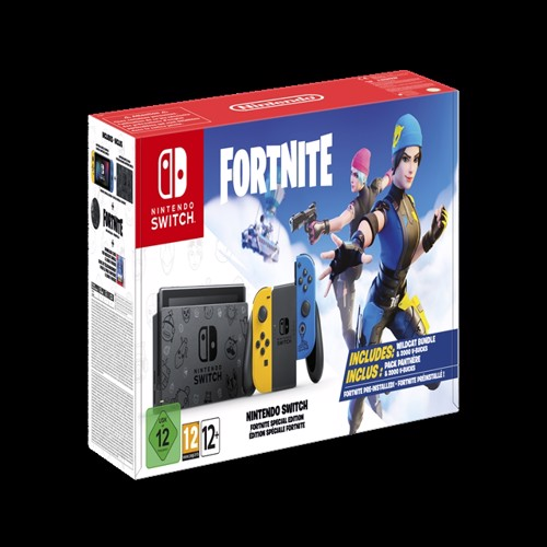 Image of Nintendo Switch Console Fortnite Special Edition -Nintendo Switch (0045496453237)