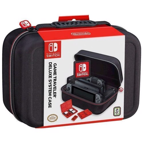 Image of Nintendo Switch Game Traveler Deluxe System Travel Case - Nintendo Switch (0663293109180)