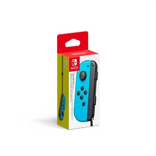Image of Nintendo Switch Neon Blue Joy-Con (L) - Nintendo Switch (0045496431389)
