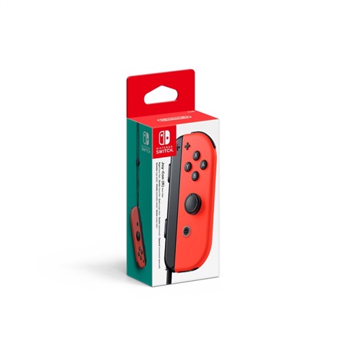 Image of Nintendo Switch Neon Red Joy-Con (R) - Nintendo Switch (0045496431396)