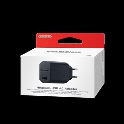 Image of Nintendo USB AC Adapter (0045496444891)
