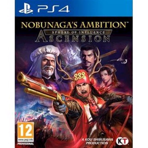 Image of Nobunaga's Ambition Sphere of Influence - Ascension - PS4 (5060327533686)