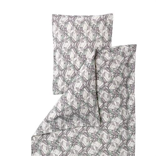 Image of No Fred junior sengetøj botanic print (5700002067814)