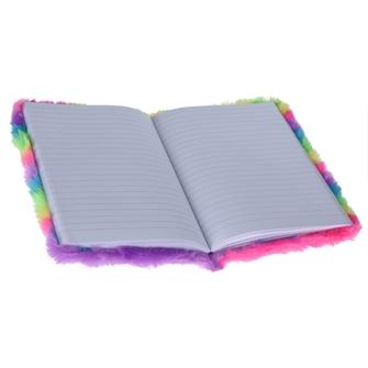 Image of Notebook Rainbow Plush (8719202865110)