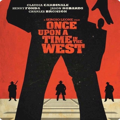 Image of Once Upon A Time In The West Steelbook Blu-Ray (7340112742850)