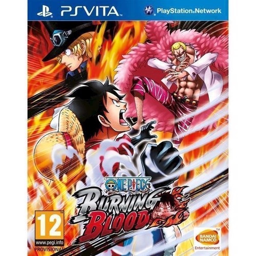 Image of One Piece Burning Blood - PS4 (3391891988018)