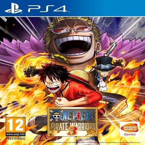 Image of One Piece Pirate Warriors 3 - PS4 (3391891984188)