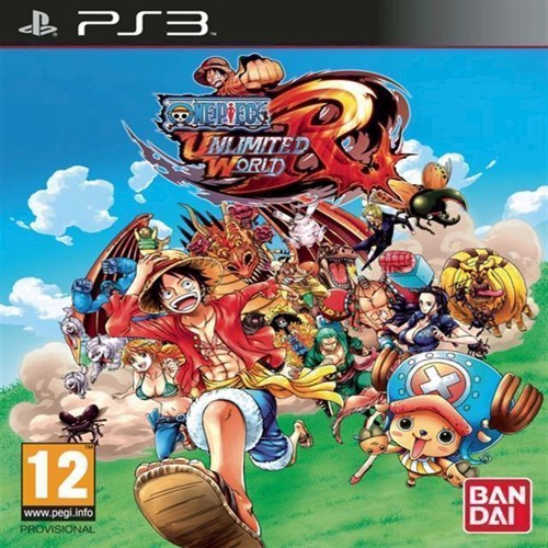 Image of One Piece Unlimited World Red - PS3 (3391891977272)