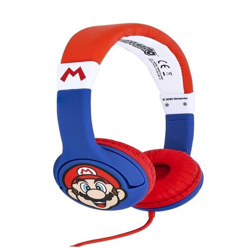 Image of OTL Super Mario Children's Headphones (5055371622974)