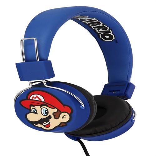 Image of OTL Super Mario Premium Tween Headphones (5055371621748)