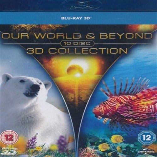 Image of Our World and Beyond Collection 3D Blu-ray (5053083052362)