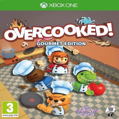 Image of Overcooked Gourmet Edition - Ps4 (5060236965714)