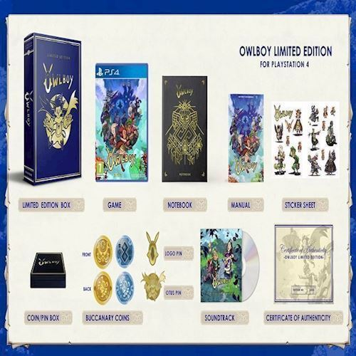 Image of Owlboy Limited Edition - PS4 (8718591186127)