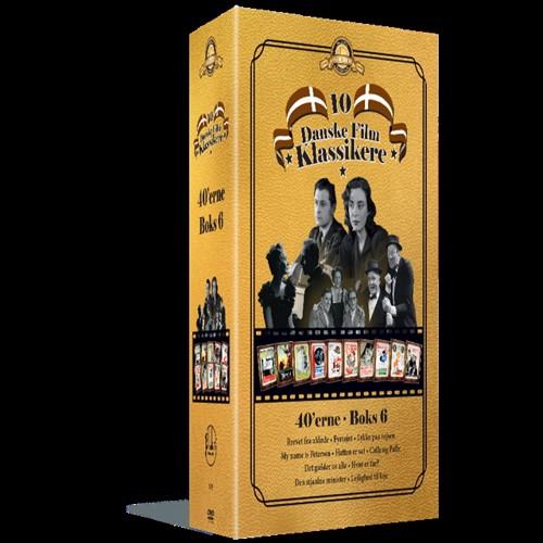 Image of Palladium 1940`Erne Boks 6- DVD (5709165605826)