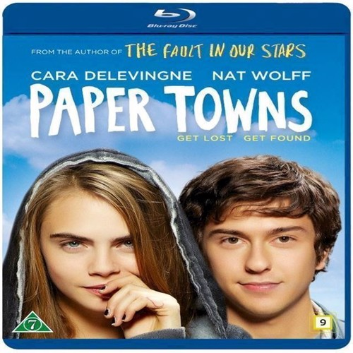 Image of Paper Towns Blu-ray (7340112724481)
