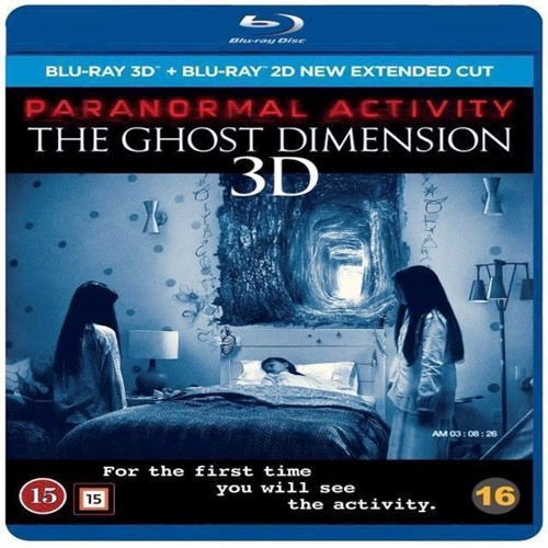 Image of Paranormal Activity 6 The Ghost Dimension 3D Blu-ray (7340112725990)