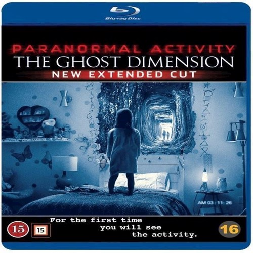 Image of Paranormal Activity 6 The Ghost Dimension BluRay (7340112725112)