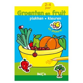 Image of Malebog med frugt og grøntsager
