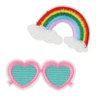 Image of Patch Rainbow and Sunglasses (8715973136329)