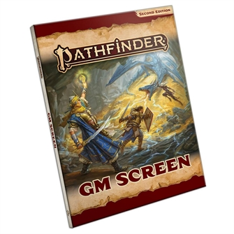 Image of Pathfinder, Game master Gm skørm